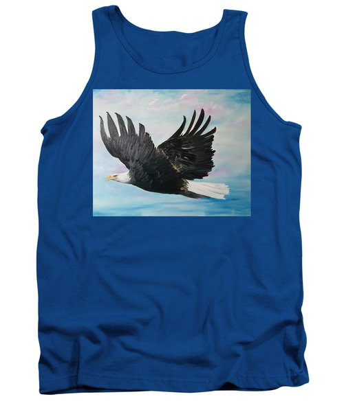Eagle On A Mission      11 Tank Top