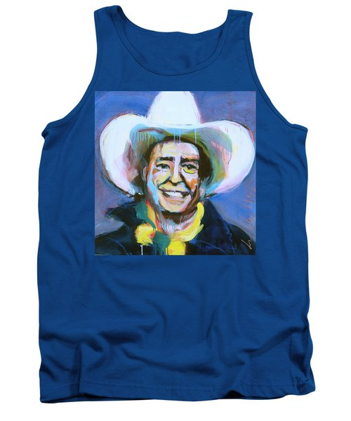 Early Willie The Flying Cowboy Tank Top