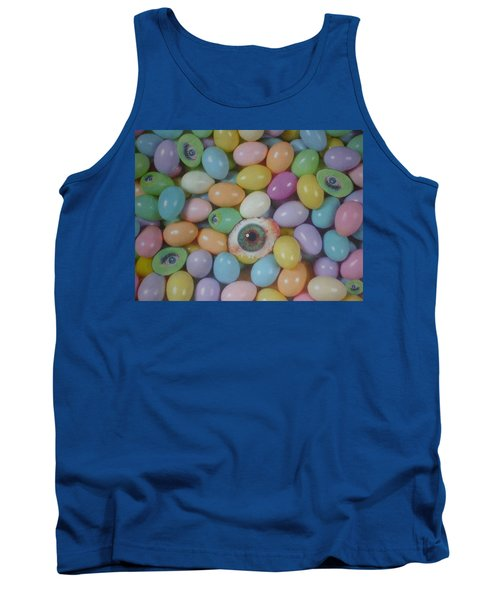 Tank Top featuring the mixed media Easter Eyes by Douglas Fromm