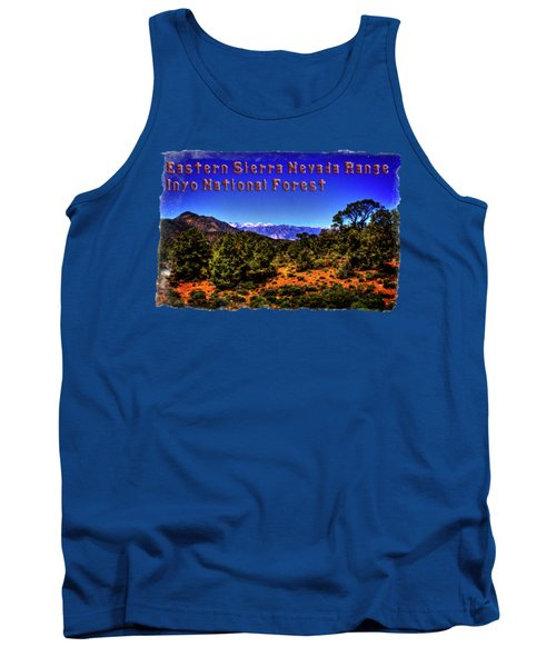 Eastern Sierras From The White Mountains Tank Top