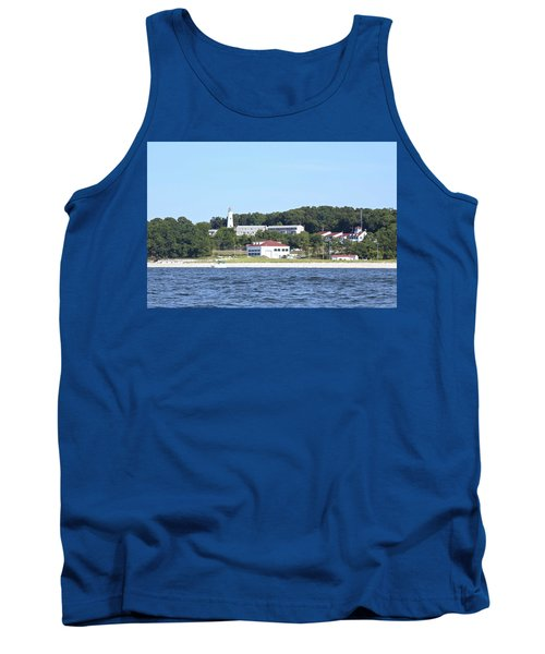 Eatons Neck Lighthouse Tank Top