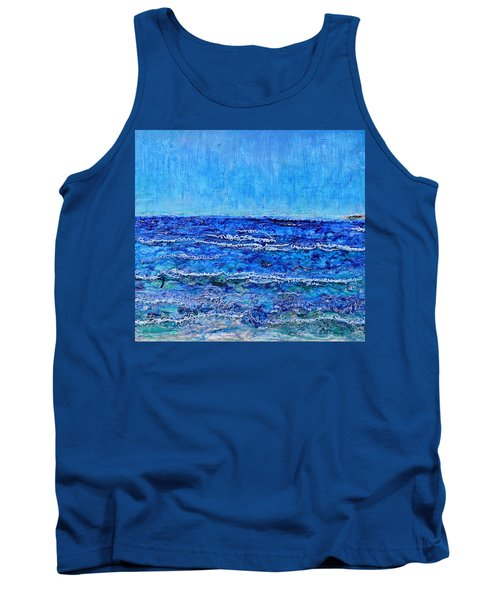Ebbing Tide Tank Top by Regina Valluzzi