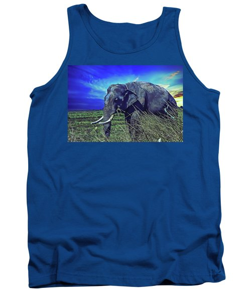 Tank Top featuring the painting Elle by Harry Warrick