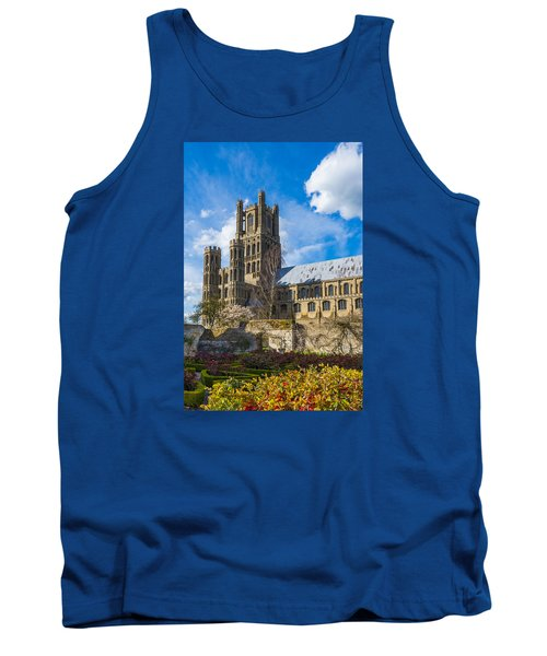 Ely Cathedral And Garden Tank Top