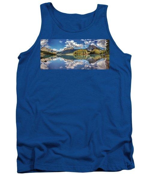 Emerald Lake Panorama Tank Top