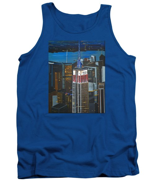 Empire State Tank Top by Donna Blossom
