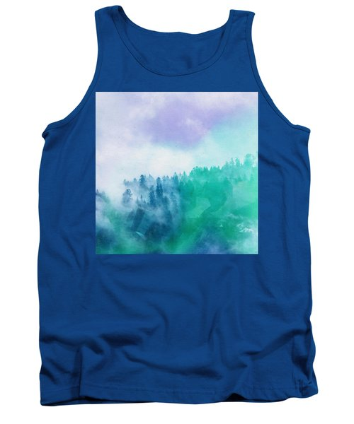 Tank Top featuring the photograph Enchanted Scenery by Klara Acel