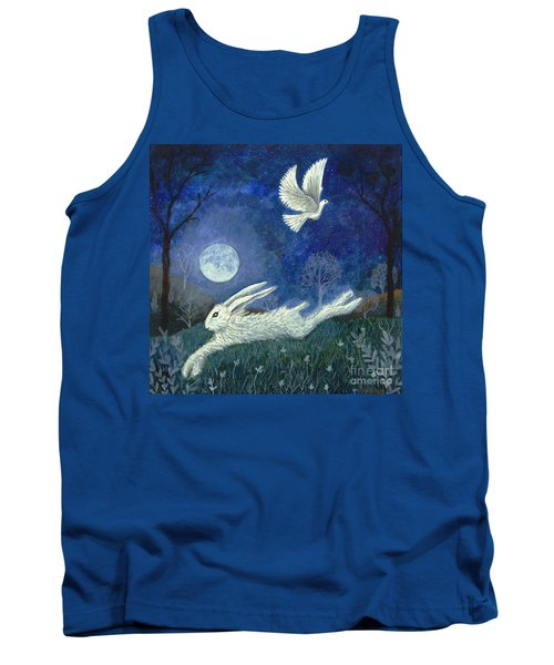 Escape With A Blessing Tank Top by Lise Winne