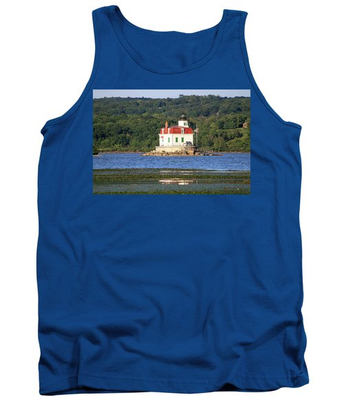 Tank Top featuring the photograph Esopus Lighthouse In Summer #4 by Jeff Severson