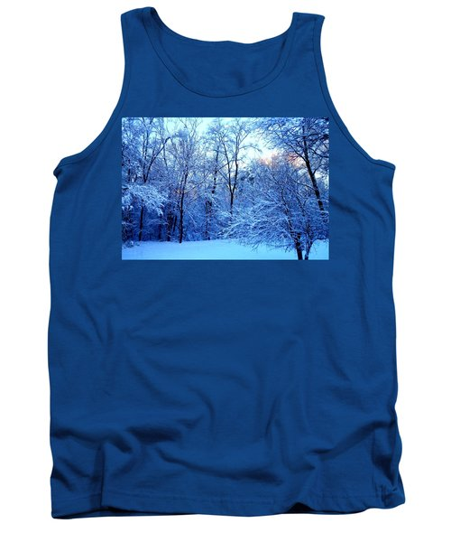 Ethereal Snow Tank Top