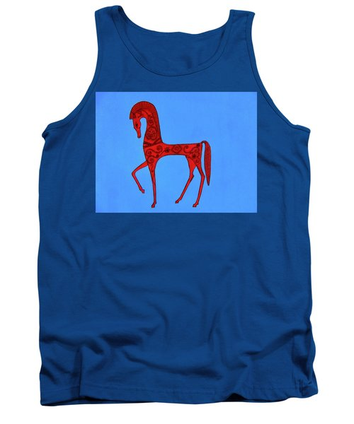 Etruscan Horse #2 Tank Top