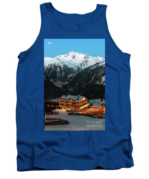 Evening Comes In Courchevel Tank Top