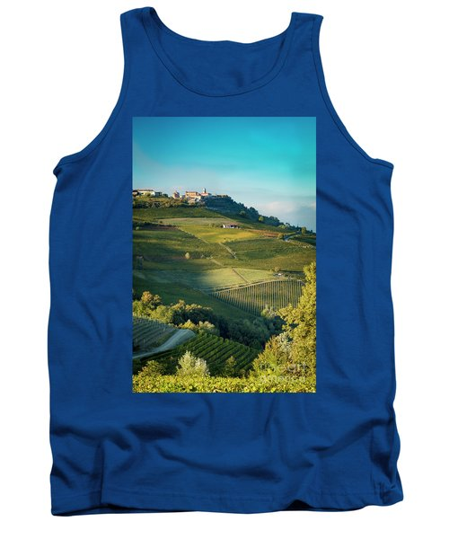 Tank Top featuring the photograph Evening In Piemonte by Brian Jannsen