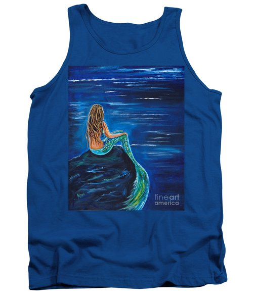 Evening Tide Mermaid Tank Top