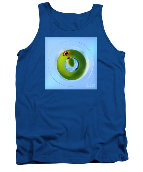 Tank Top featuring the photograph Olive Eye by Martin Konopacki