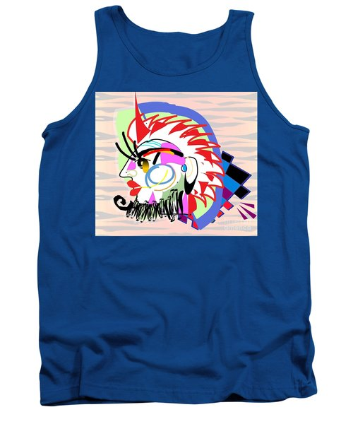 Exotic Mask Tank Top