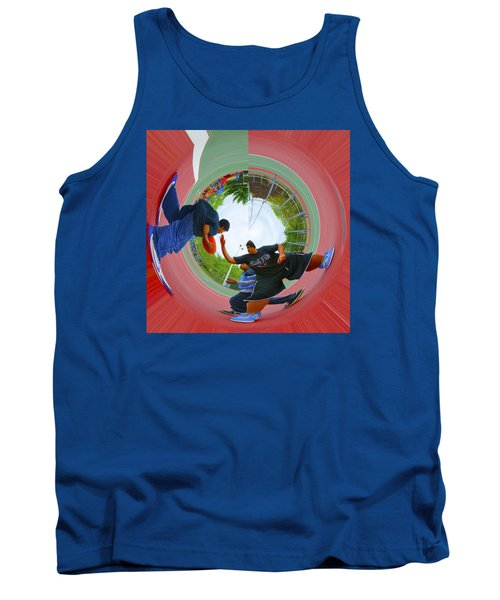 Extreme Pick Up Basketball Tank Top