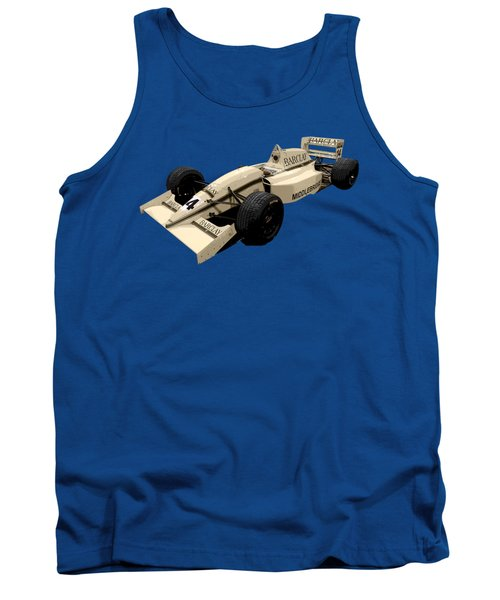 F1 B Racer Art Tank Top