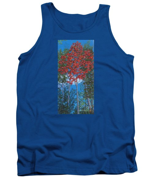 Fall In Asheville Tank Top by Anne Marie Brown
