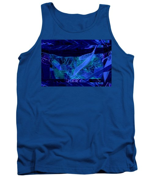 Fantasy With African Violets And Peace Lily 40 Tank Top