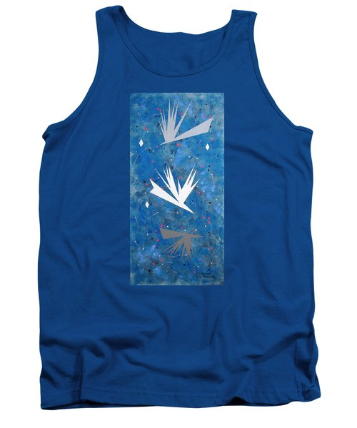 Tank Top featuring the painting Feeding Frenzy by J R Seymour