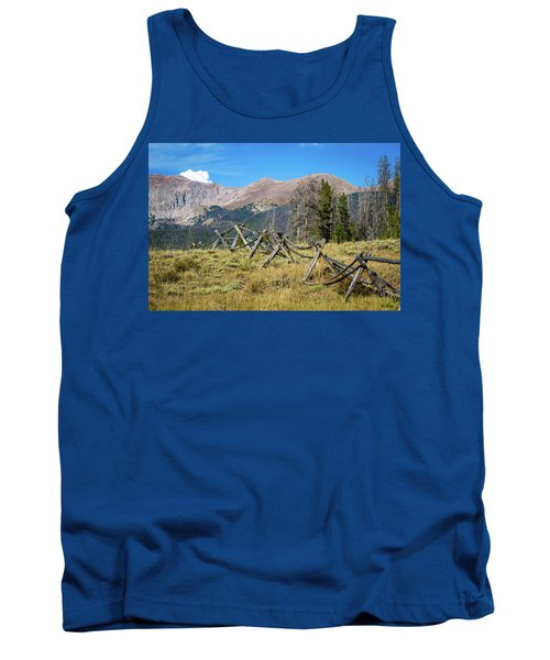 Fences Into The Rockies Tank Top
