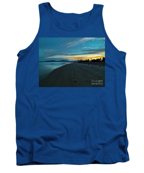 Fiji Dawn Tank Top by Karen Lewis