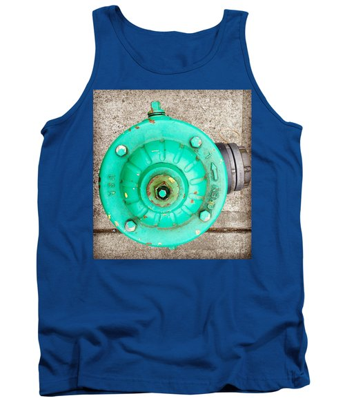 Fire Hydrant #6 Tank Top by Suzanne Lorenz