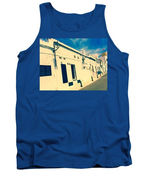 Fishermens' Cottages In Cuitadella Tank Top