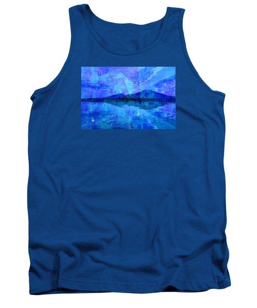 Flagstaff Lake Blu Tank Top