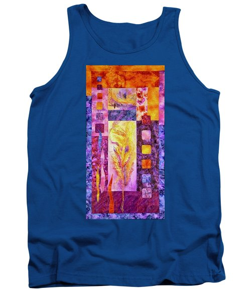 Flaming Feathers Tank Top