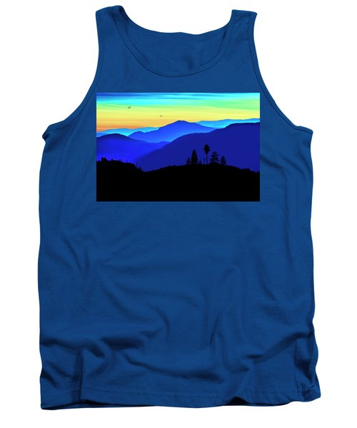 Tank Top featuring the photograph Flight Of Fancy by John Poon