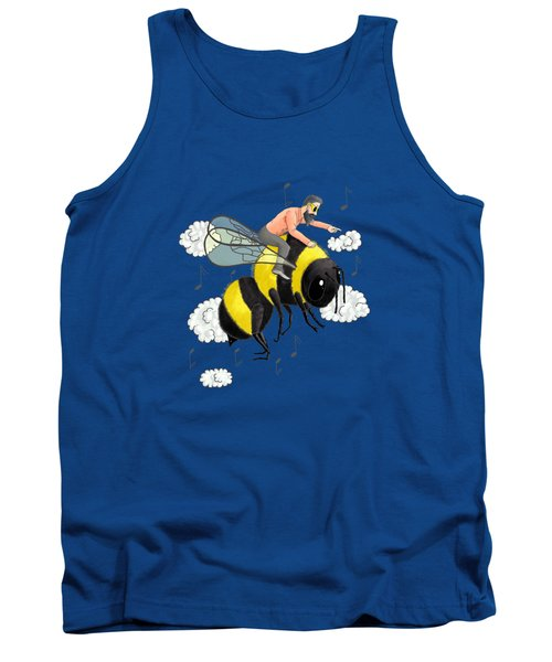 Flight Of The Bumblebee By Nicolai Rimsky Korsakov Tank Top