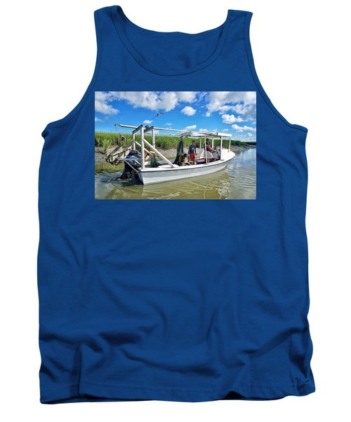 Floating On Shallow Water Tank Top