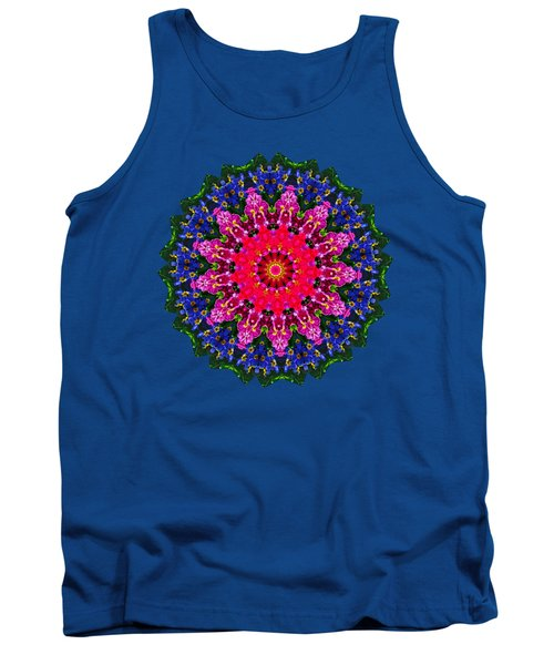 Floral Kaleidoscope By Kaye Menner Tank Top