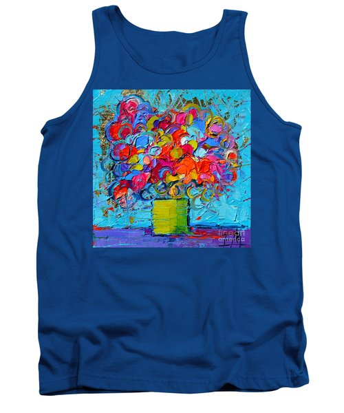 Floral Miniature - Abstract 0415 Tank Top