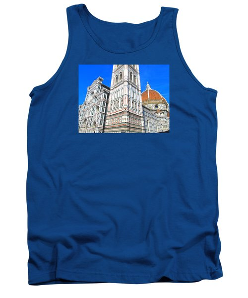 Florence Duomo Cathedral Tank Top by Lisa Boyd