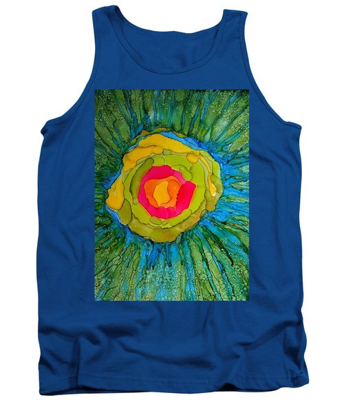 Flower Burst Tank Top