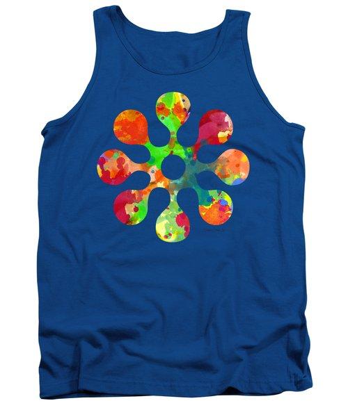 Flower Power 4 - Tee Shirt Design Tank Top by Debbie Portwood