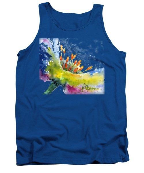 Flower Shirt Tank Top