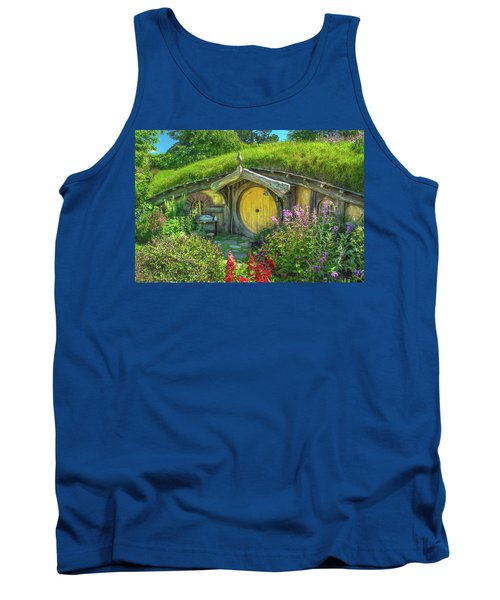 Flowers In The Shire Tank Top
