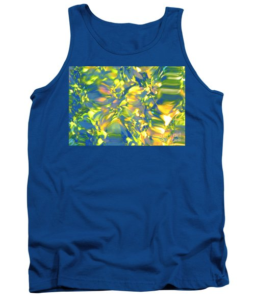 Fluttering Of Color Tank Top