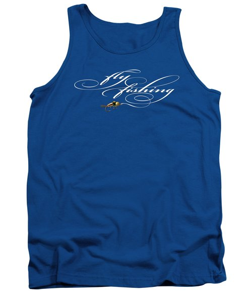 Fly Fishing Nymph Tank Top by Rob Corsetti