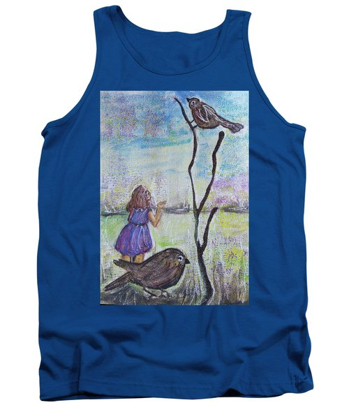 Fly, Fly Away Tank Top