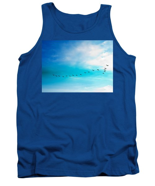 Flying Away Tank Top