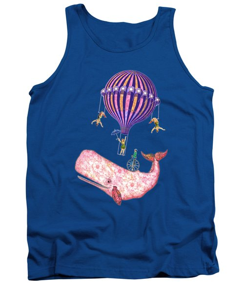 Flying Whale Circus Tank Top