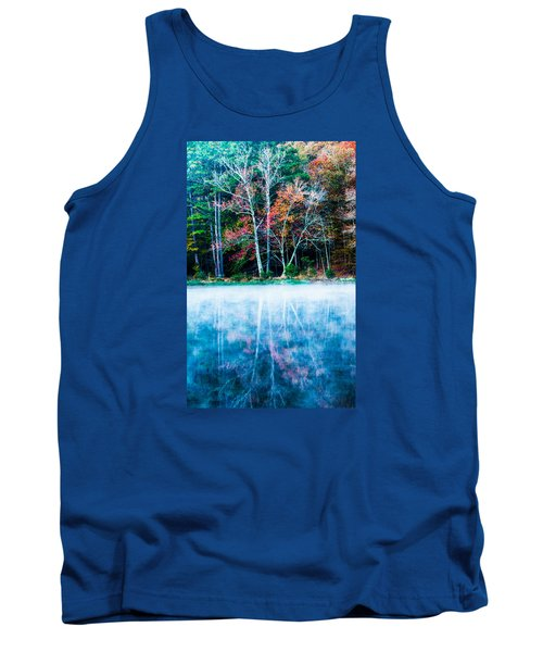 Fog On The Lake Tank Top by Parker Cunningham