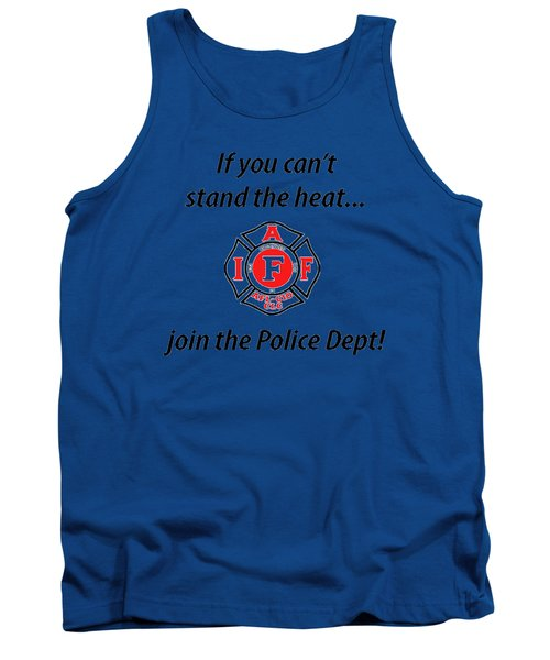 For Firefighters Tank Top