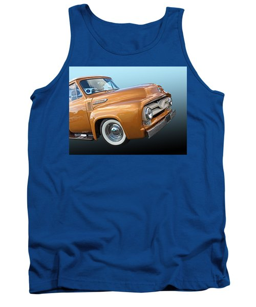 Ford F100 1955 In Bronze Tank Top