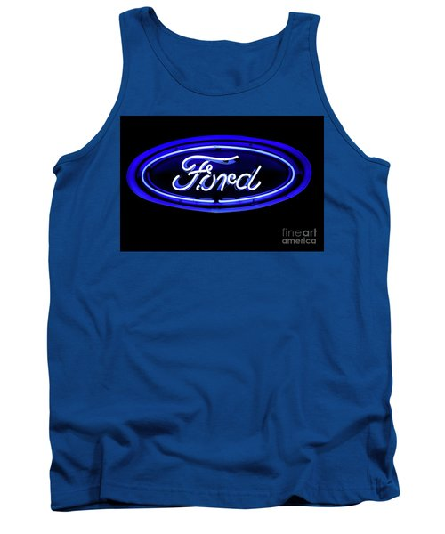 Ford Neon Sign Tank Top